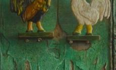 Twee haantjes / Two roosters