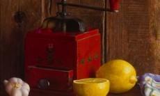 Rode koffiemolen