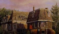 house & landscape