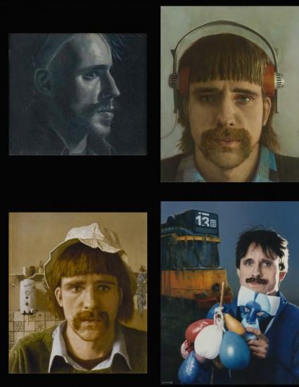 zelfportretten  jaren 70 en 80