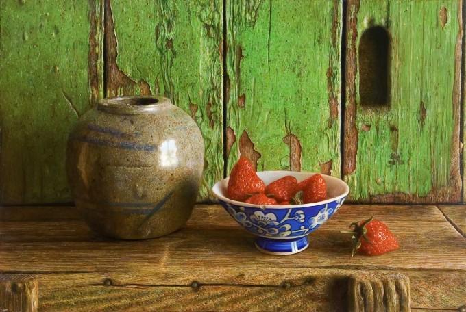 Herman Tulp: Gemberpot en aardbeien