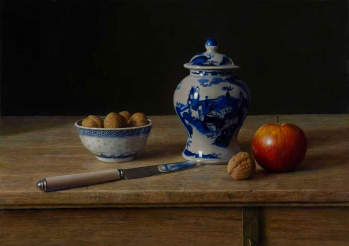 Still life with walnuts