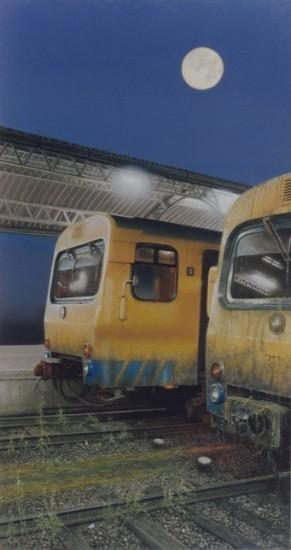 Grimmige treinen
