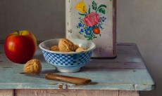 Stilleven met walnoten                      / Still life with walnuts
