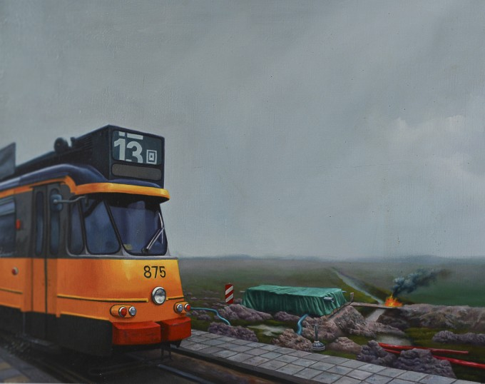 Gestrandde tram