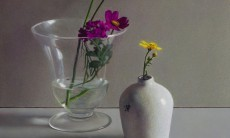 Composition with Cosmea
