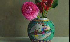 Rose in Ginger Jar